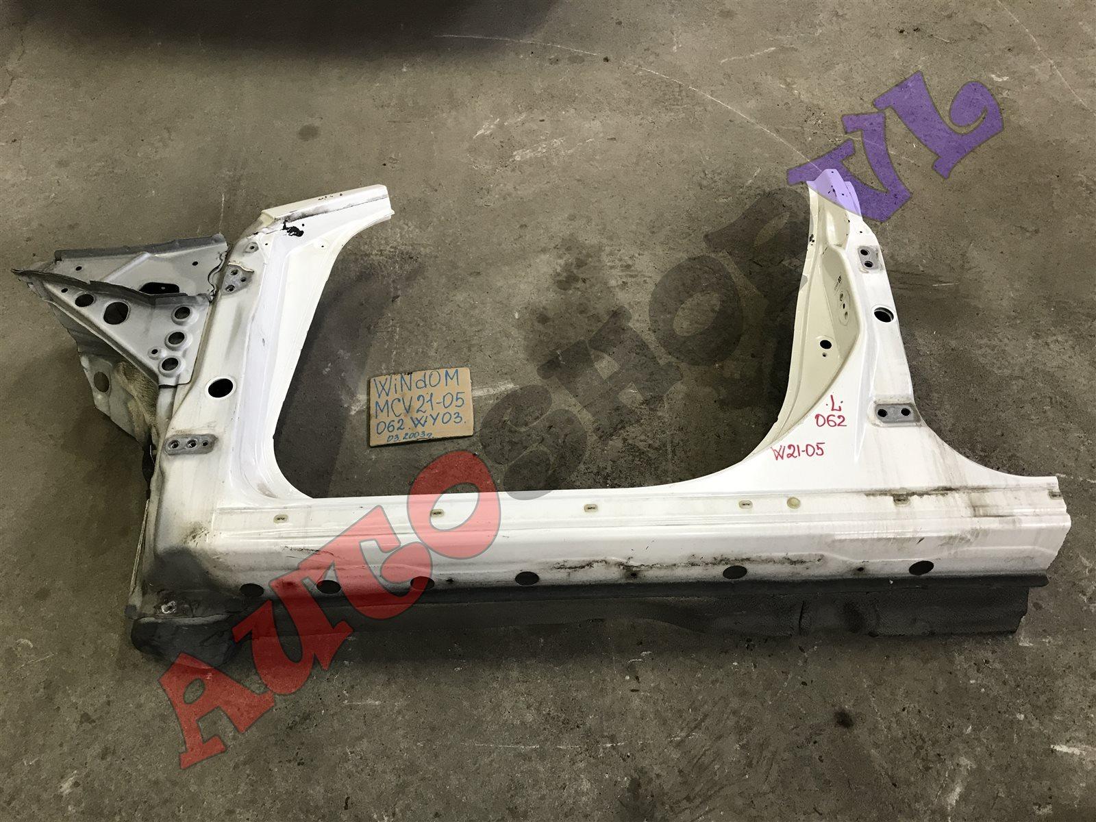 Порог кузова Toyota Windom MCV21 2MZFE 03.2000 передний левый (б/у)