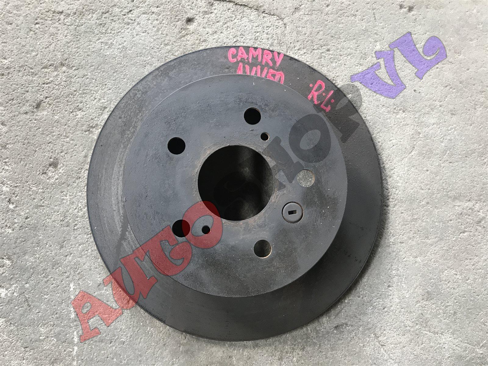 Тормозной диск Toyota Camry AVV50 2ARFXE 12.2011г. задний левый (б/у)