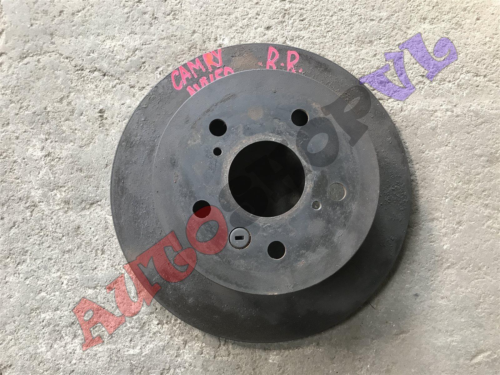 Тормозной диск Toyota Camry AVV50 2ARFXE 12.2011г. задний правый (б/у)