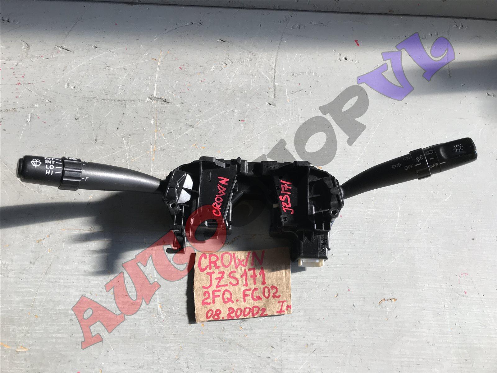 Блок подрулевых переключателей Toyota Crown JZS171 1JZGE 08.2000 (б/у)