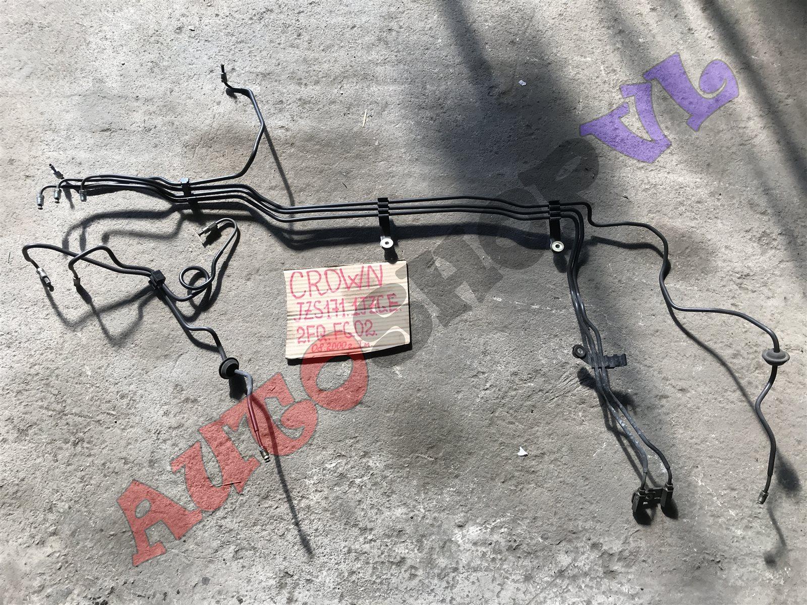 Трубка тормозная Toyota Crown JZS171 1JZGE 08.2000 передняя (б/у)
