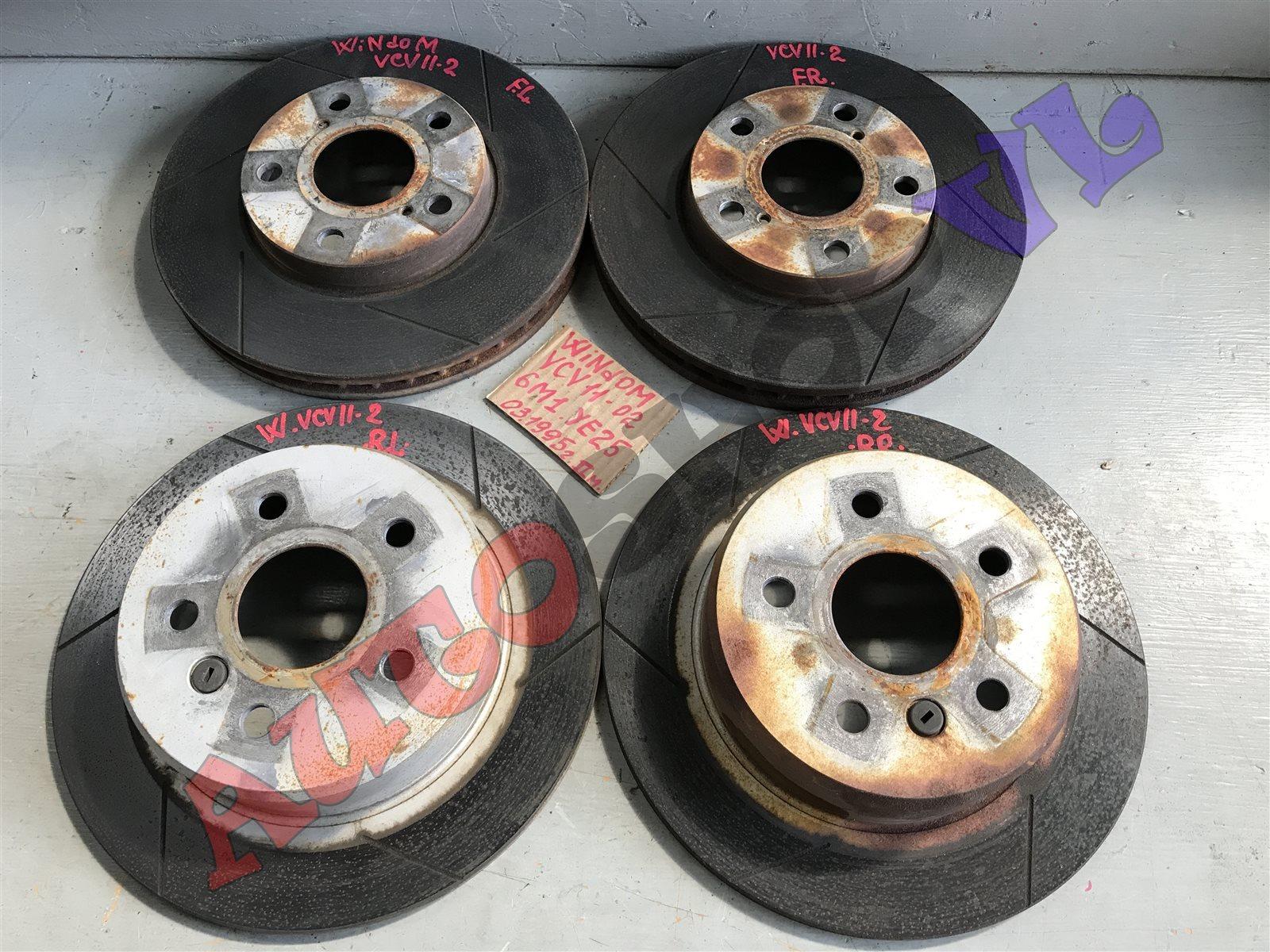 Тормозной диск Toyota Windom VCV11 задний правый (б/у)