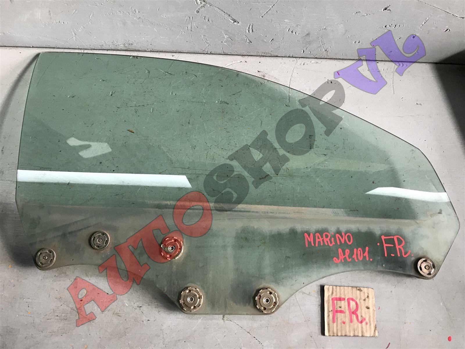 Стекло двери Toyota Sprinter Marino AE101 переднее правое (б/у)