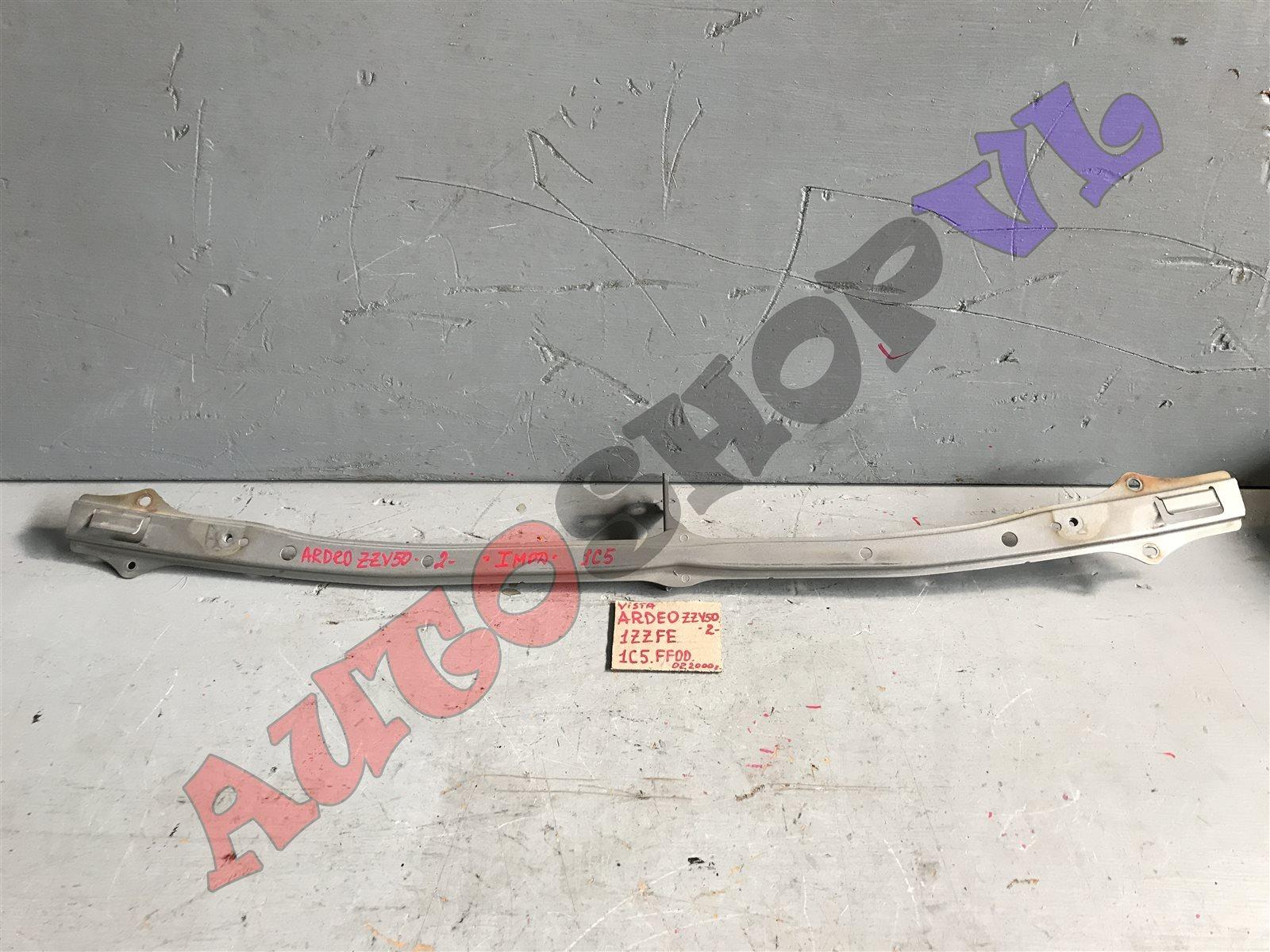 Планка под фары Toyota Vista Ardeo SV50 1ZZFE 06.1998 передняя верхняя (б/у)