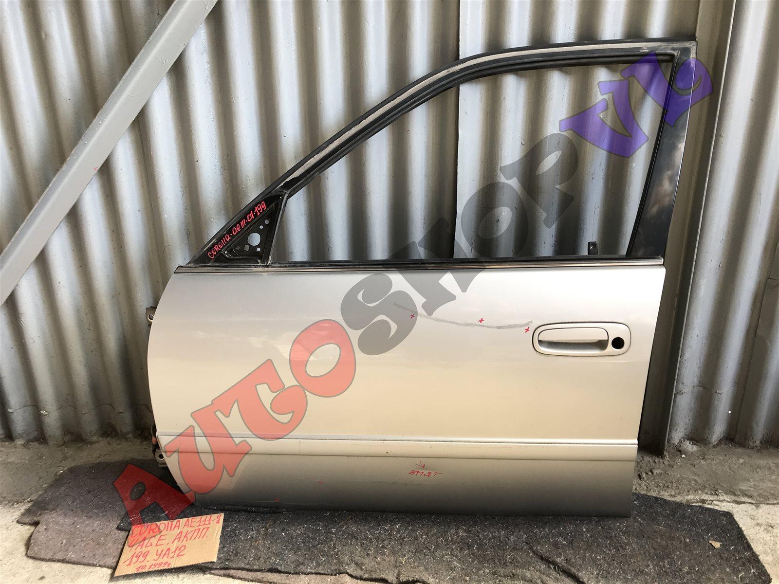 Дверь Toyota Corolla AE111 4AGE передняя левая (б/у)