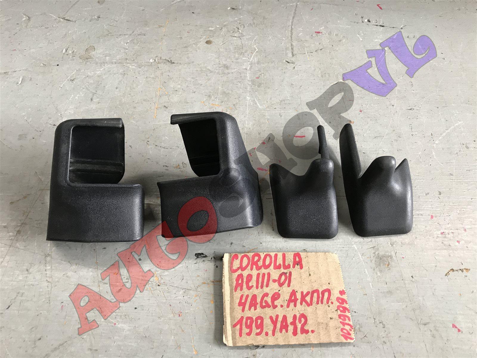 Пластик сидений Toyota Corolla AE111 4AGE (б/у)