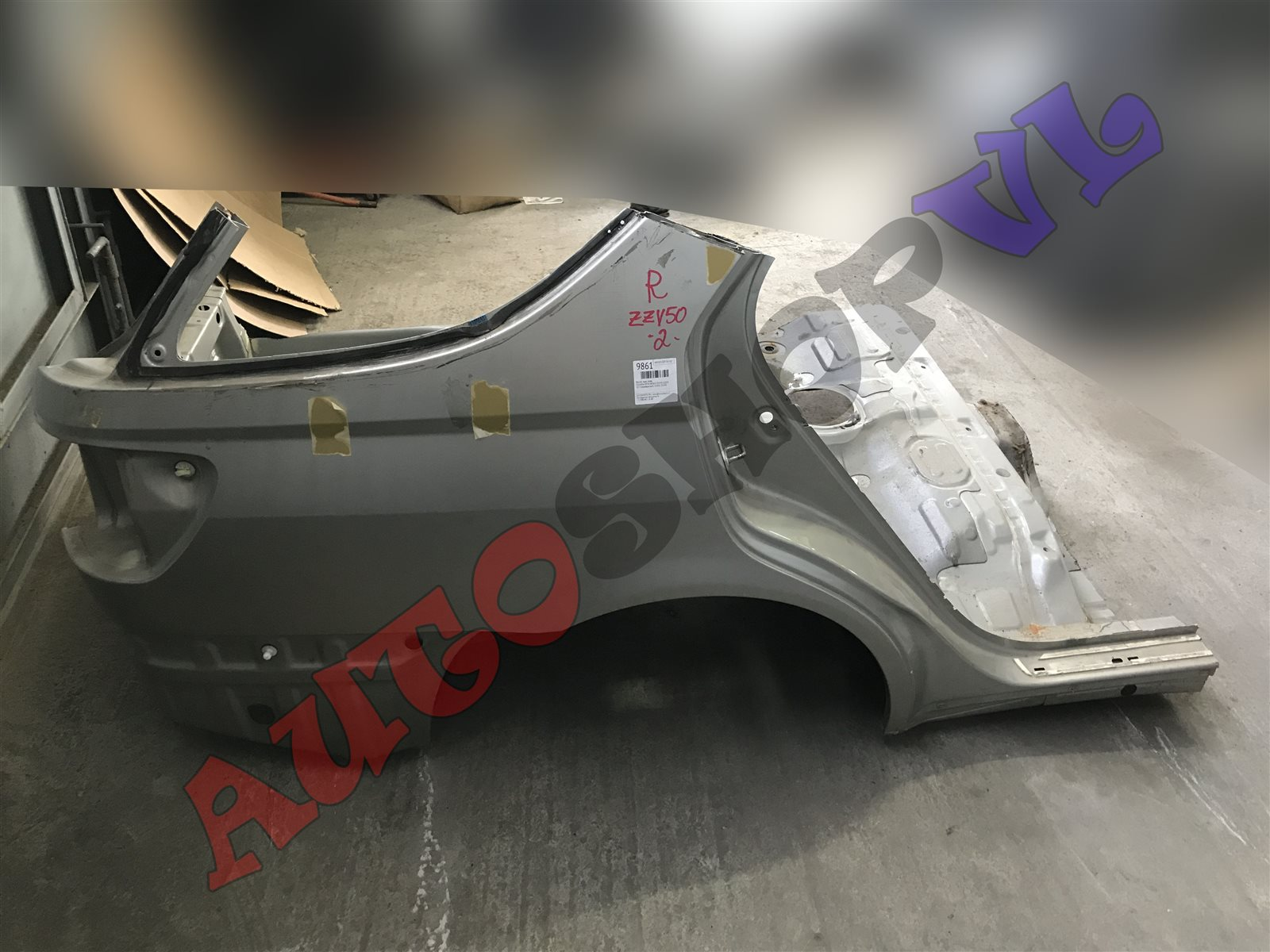 Крыло Toyota Vista Ardeo ZZV50 1ZZFE заднее правое (б/у)