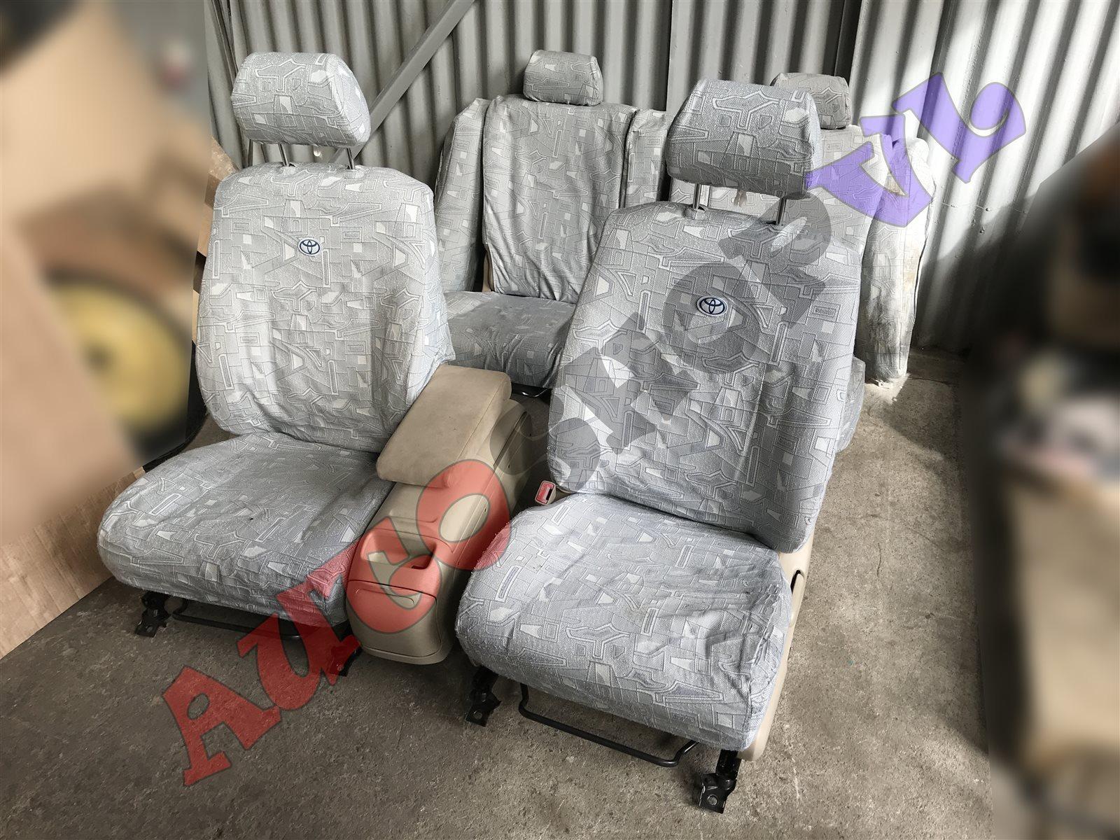 Чехлы на сидения Toyota Vista Ardeo SV50 3SFSE (б/у)