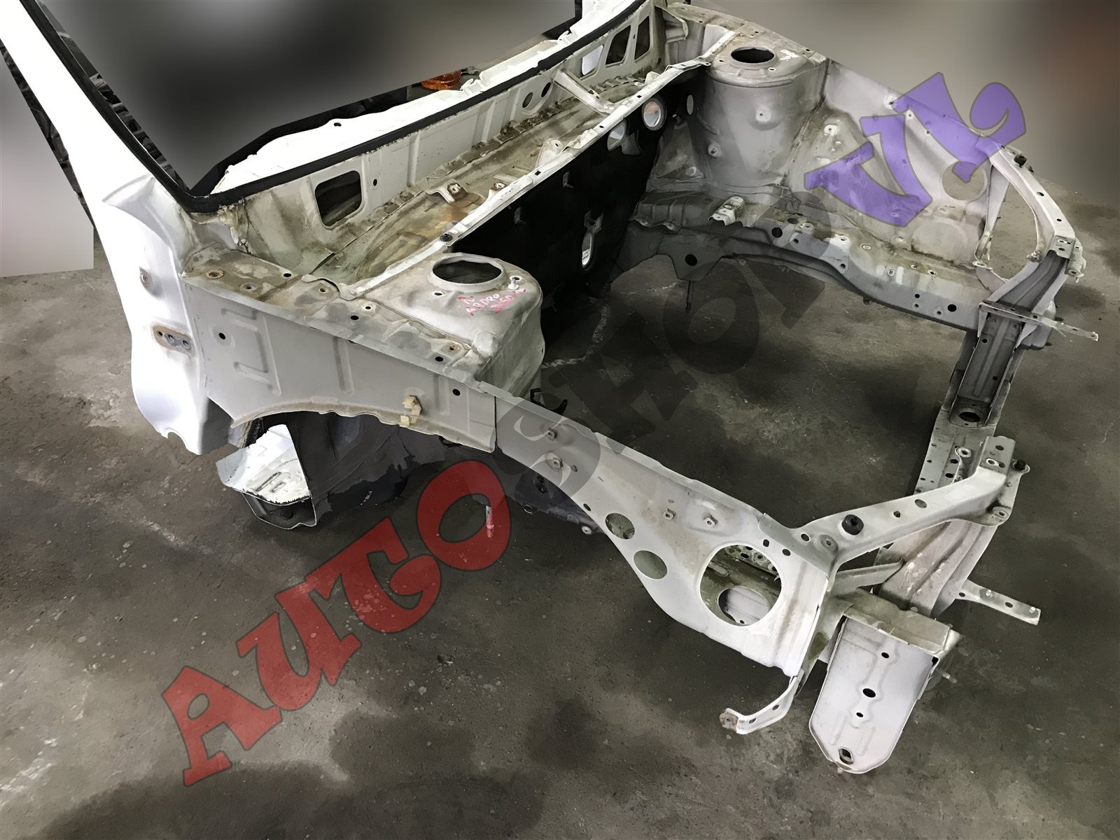 Лонжерон Toyota Vista Ardeo SV50 3SFSE 06.2000 передний правый (б/у)