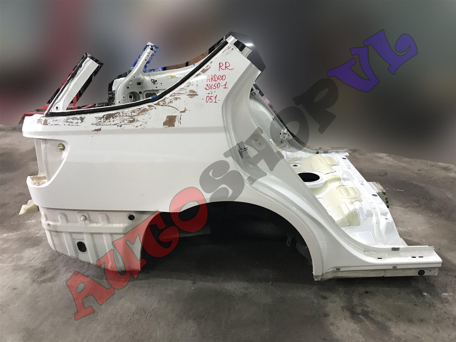 Rear cut Toyota Vista Ardeo SV50 3SFSE 06.2000 (б/у)