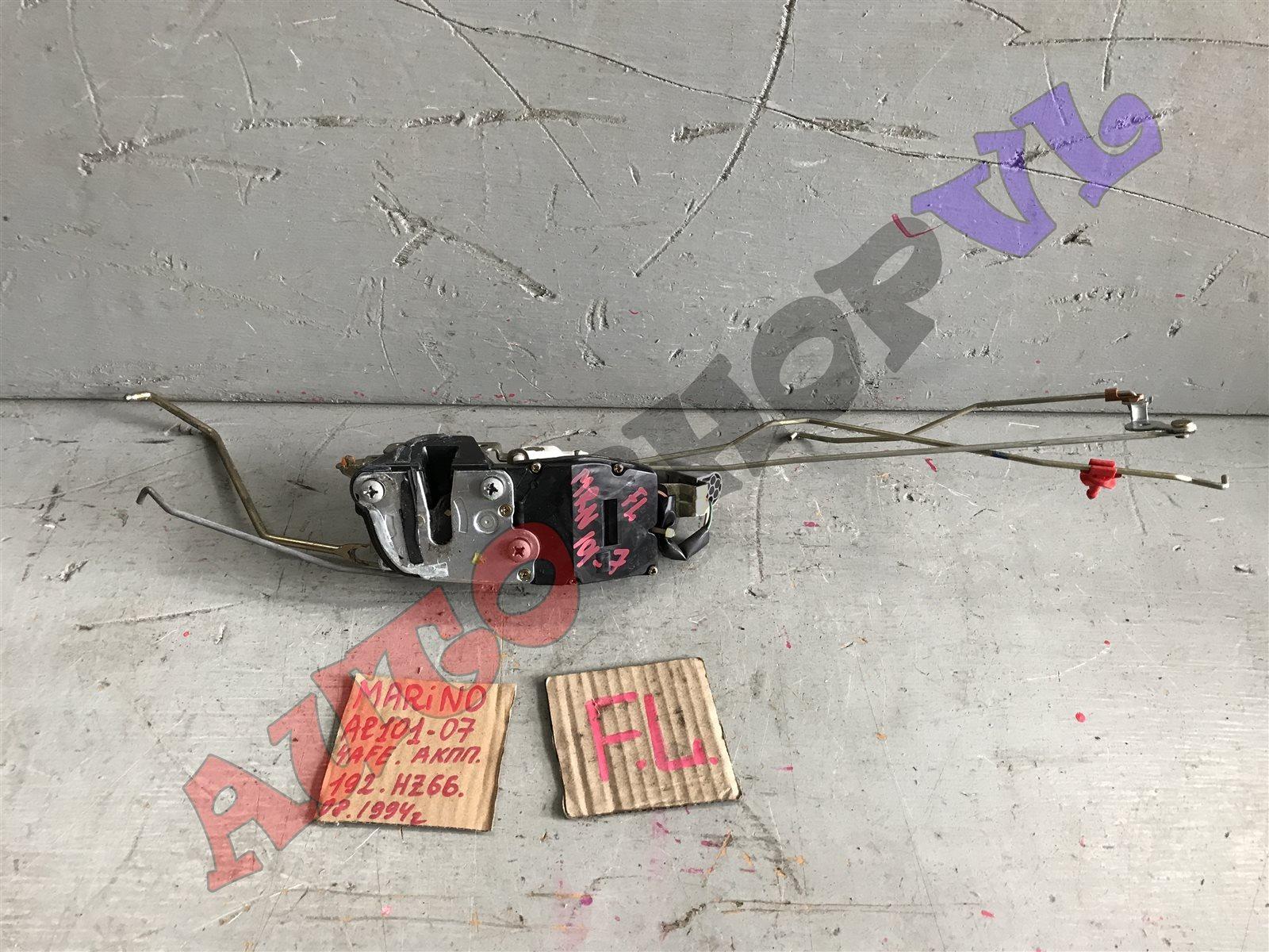 Замок двери Toyota Sprinter Marino AE101 передний левый (б/у)