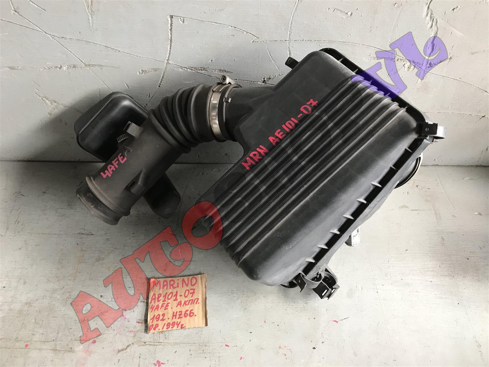 Гофра воздушного фильтра Toyota Sprinter Marino AE101 4AFE 06.1991 (б/у)