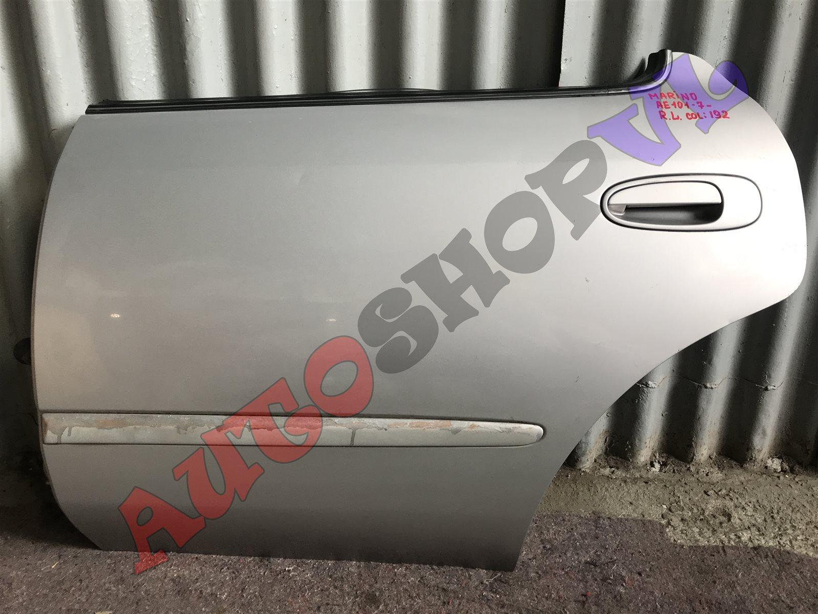 Дверь Toyota Sprinter Marino AE101 задняя левая (б/у)