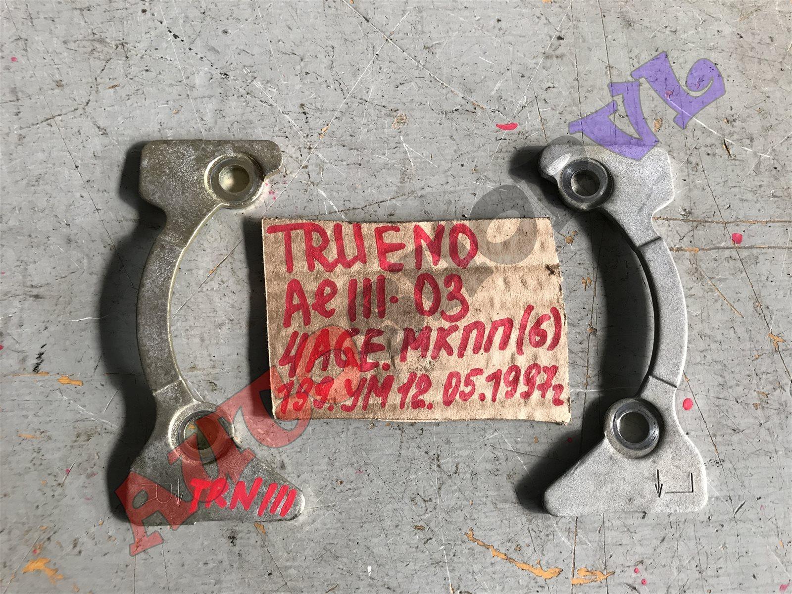 Распорка на стойки Toyota Sprinter Trueno AE111 4AGE задняя (б/у)