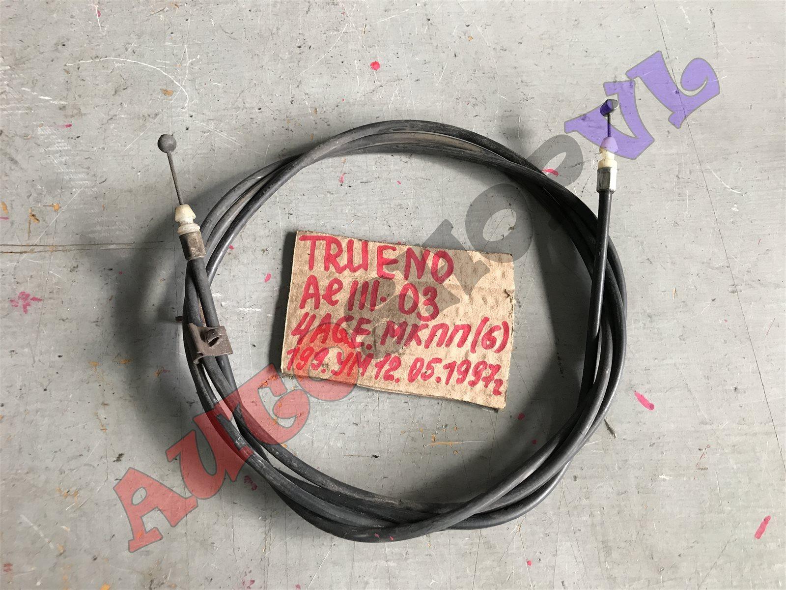 Тросик замка капота Toyota Sprinter Trueno AE111 (б/у)