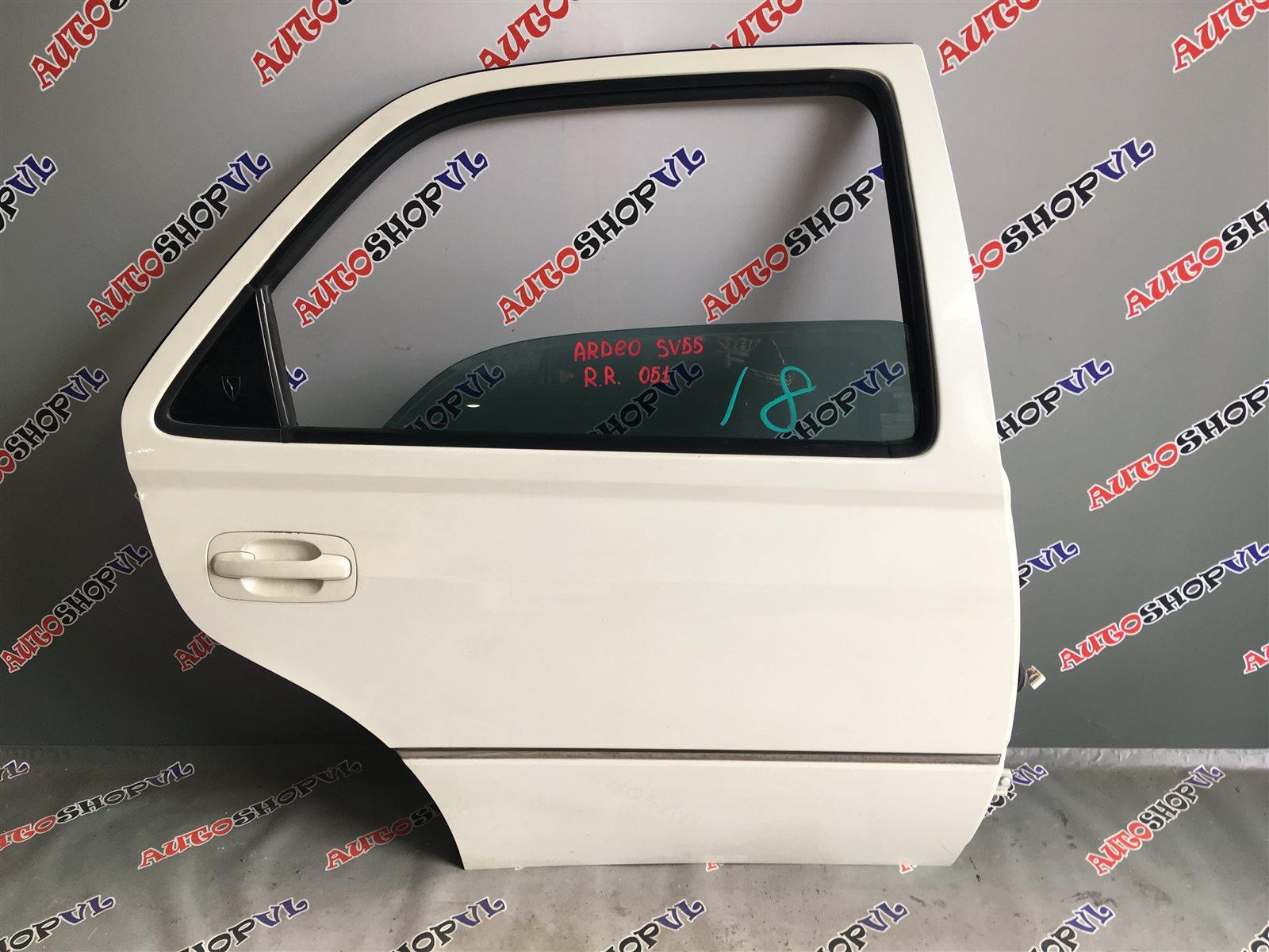 Дверь Toyota Vista Ardeo AZV50 задняя правая (б/у)