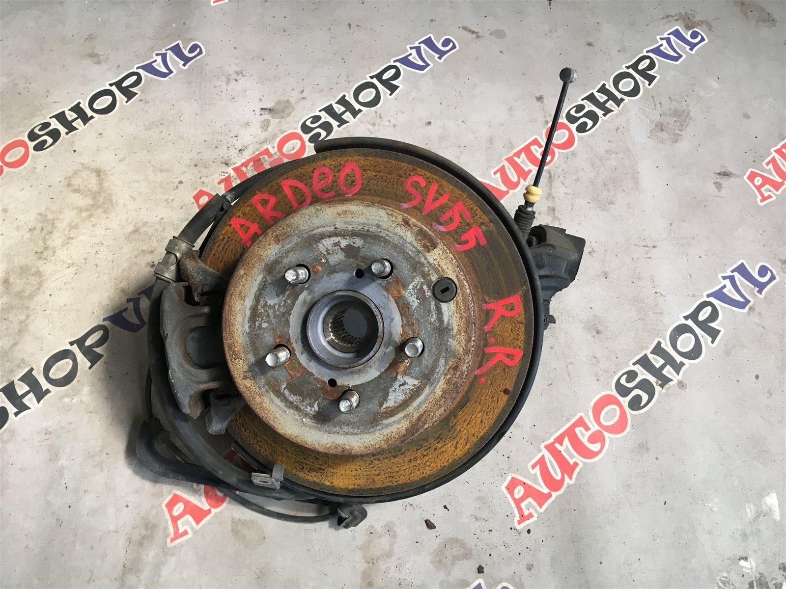 Ступица Toyota Vista Ardeo SV55 3SFE задняя правая (б/у)