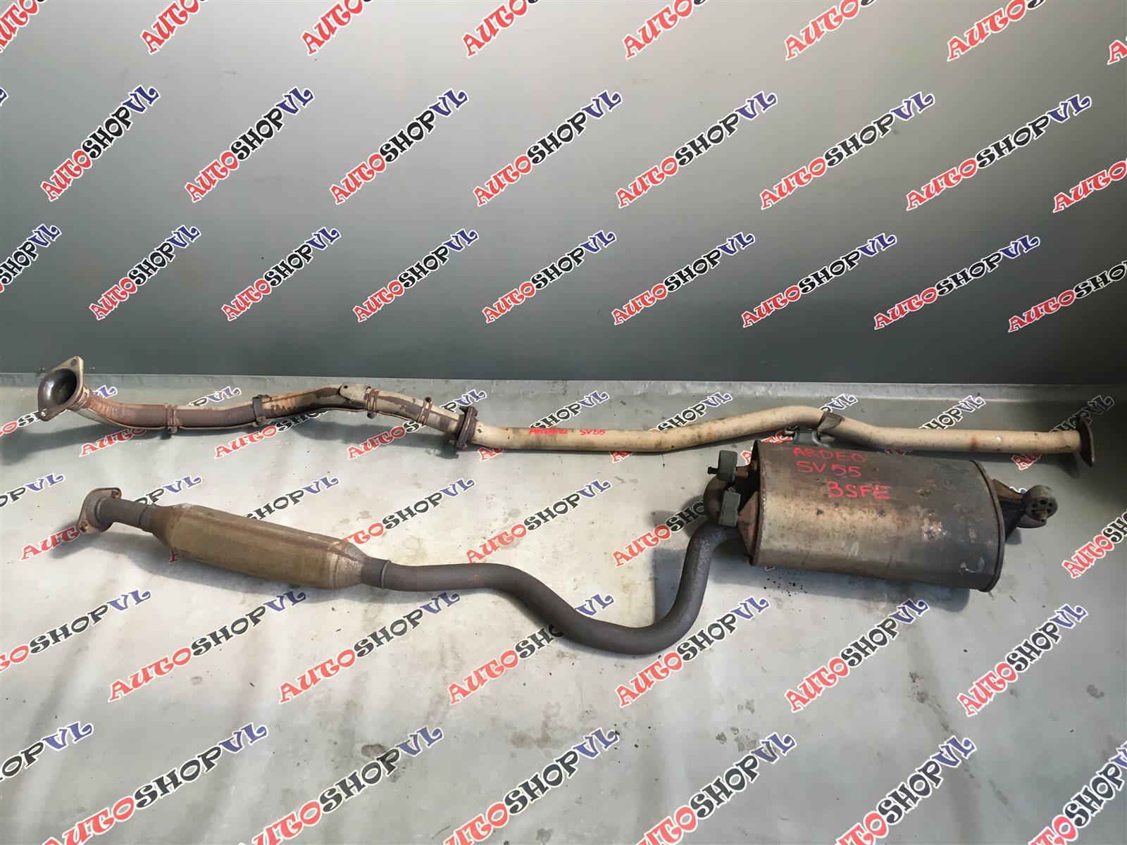 Глушитель Toyota Vista Ardeo SV55 3SFE 08.1999 (б/у)