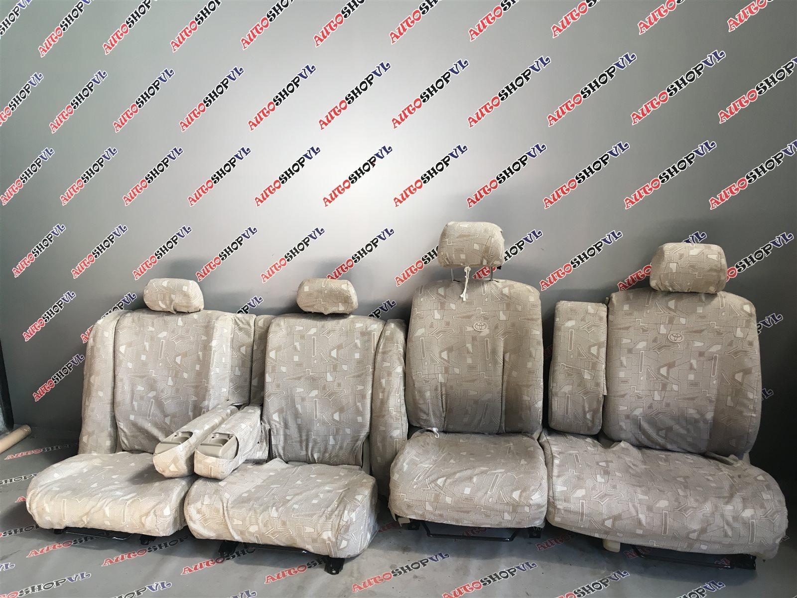 Чехлы на сидения Toyota Vista Ardeo SV55 3SFE (б/у)