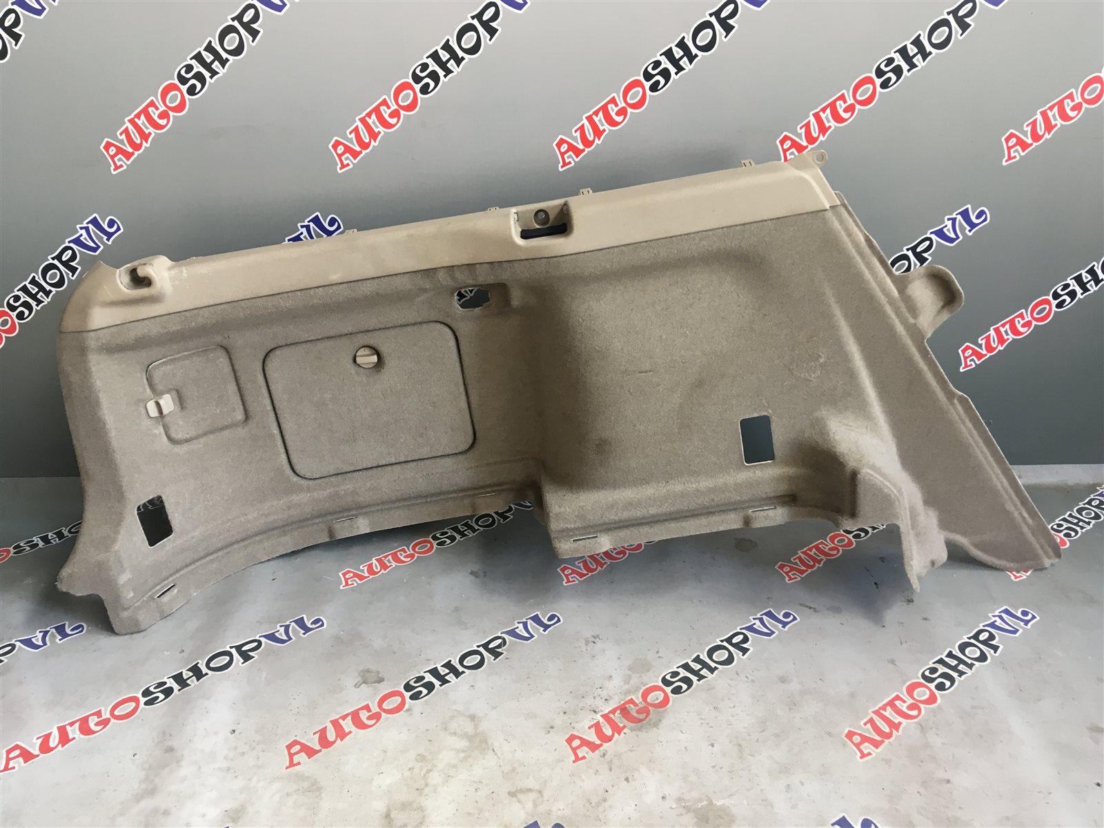 Обшивка багажника Toyota Vista Ardeo SV50 06.1998 задняя левая нижняя (б/у)