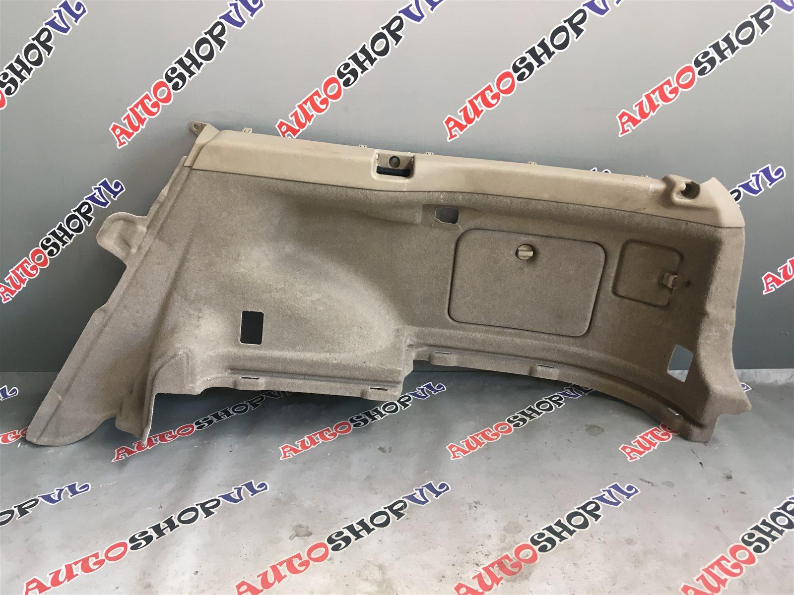 Обшивка багажника Toyota Vista Ardeo SV50 06.1998 задняя правая нижняя (б/у)