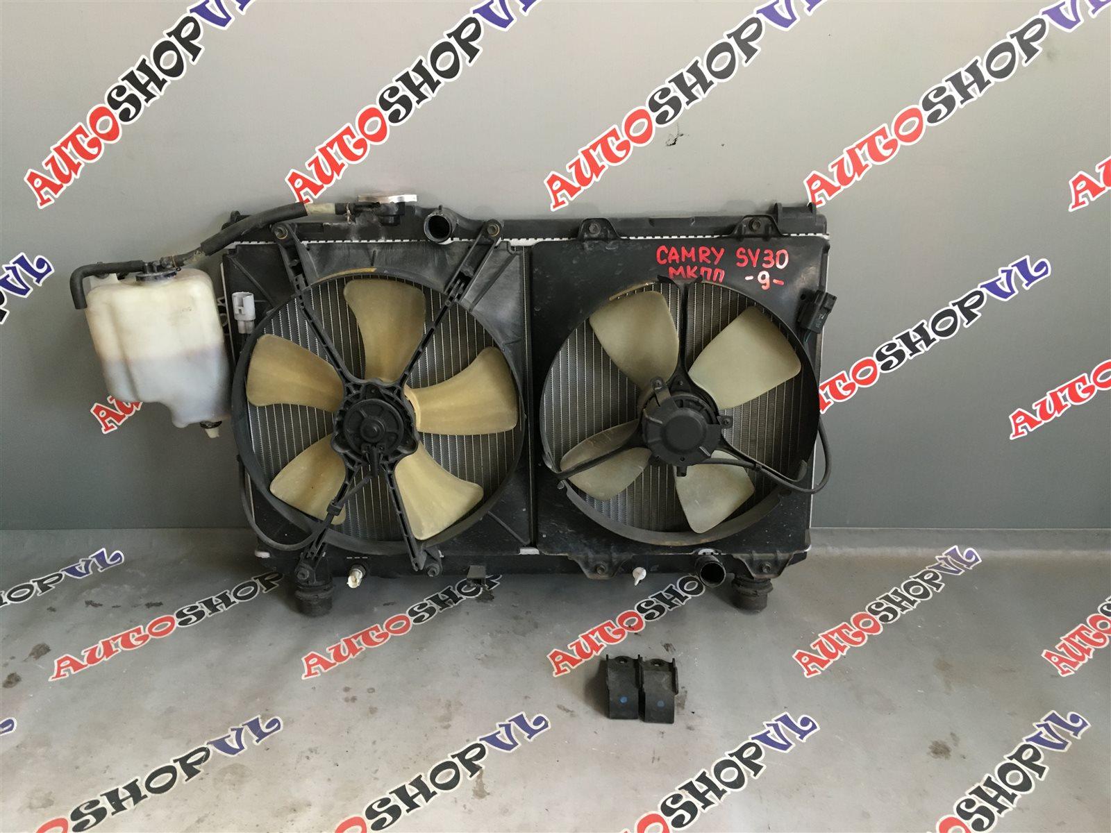 Радиатор основной Toyota Camry SV30 4SFE (б/у)