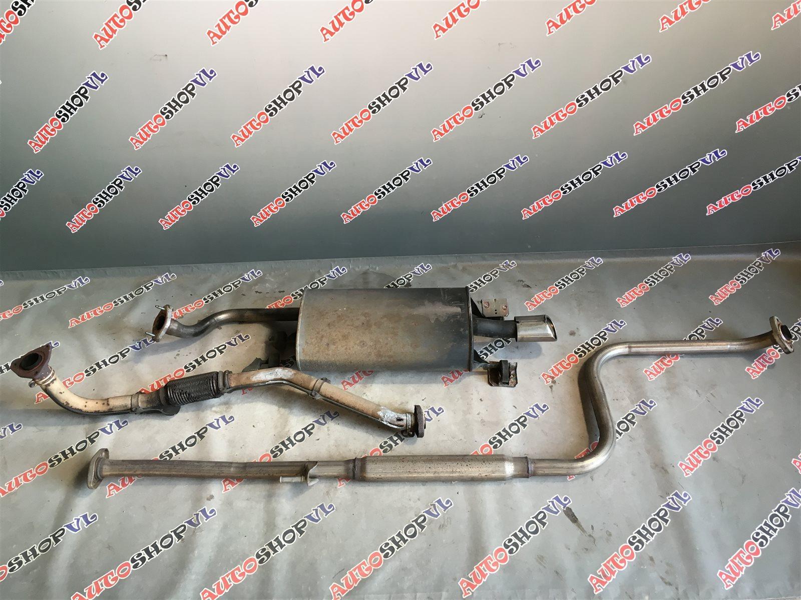 Глушитель Toyota Camry SV30 4SFE 1992 (б/у)