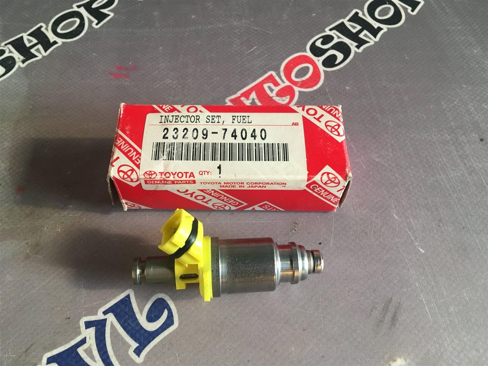 Форсунка инжекторная Toyota Vista SV32 3SFE