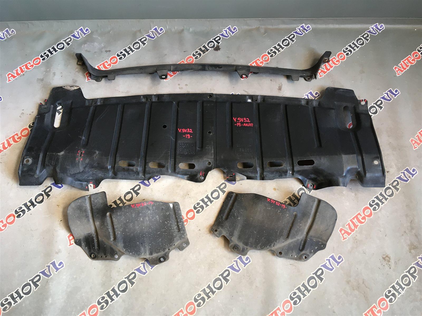 Защита двигателя Toyota Vista SV30 (б/у)