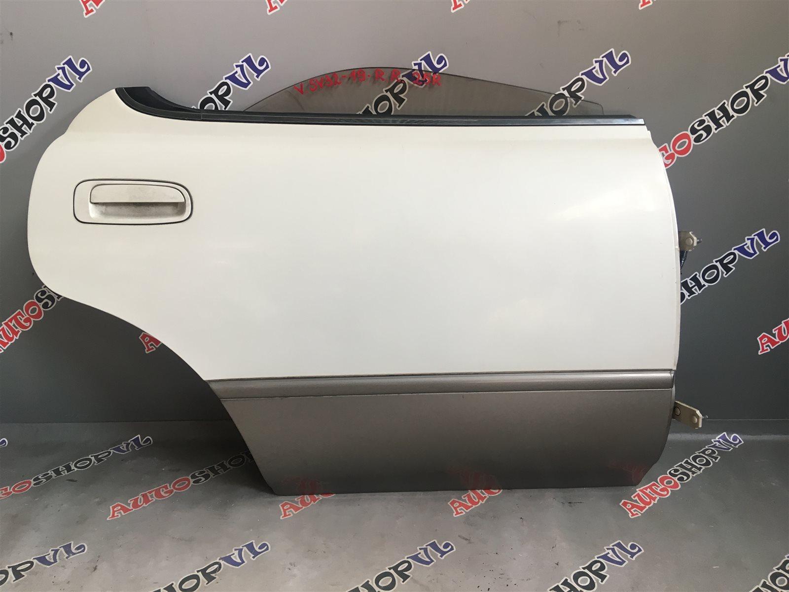 Дверь Toyota Vista SV30 задняя правая (б/у)