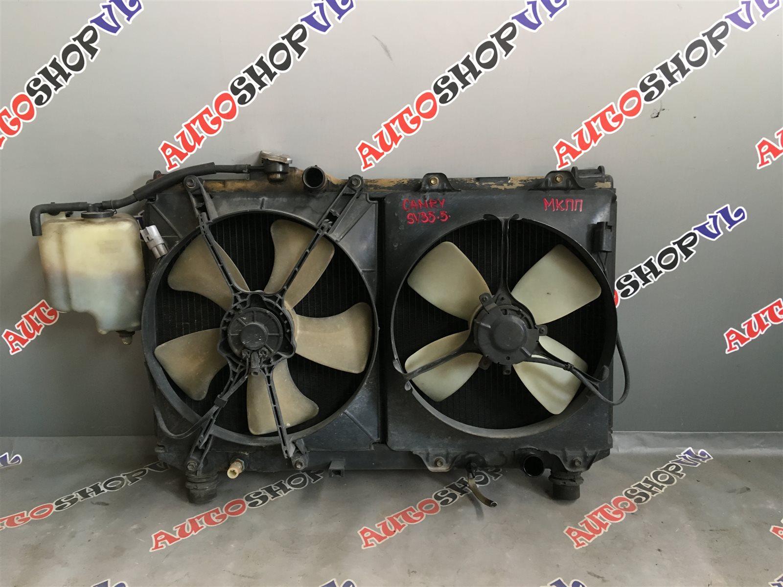 Радиатор основной Toyota Camry SV32 3SFE (б/у)