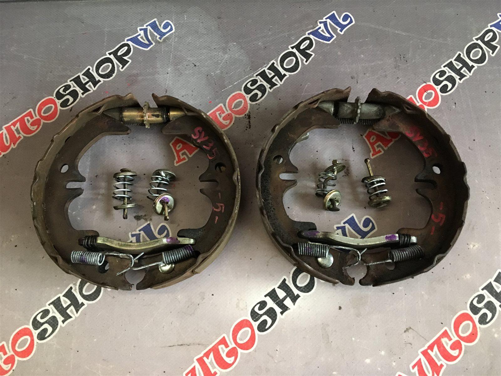 Механизм стояночного тормоза Toyota Camry CV30 задний (б/у)
