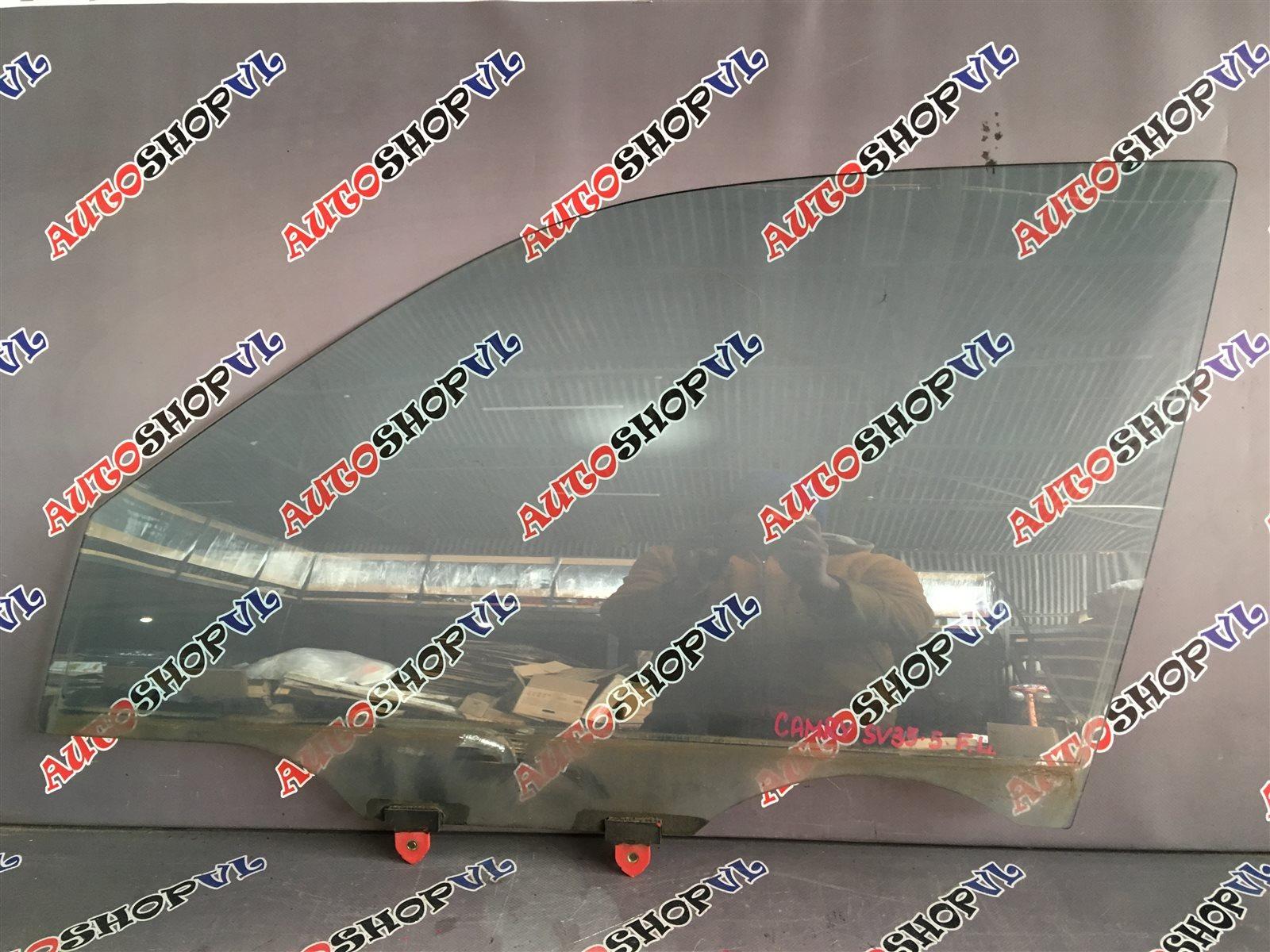 Стекло двери Toyota Camry SV30 переднее левое (б/у)