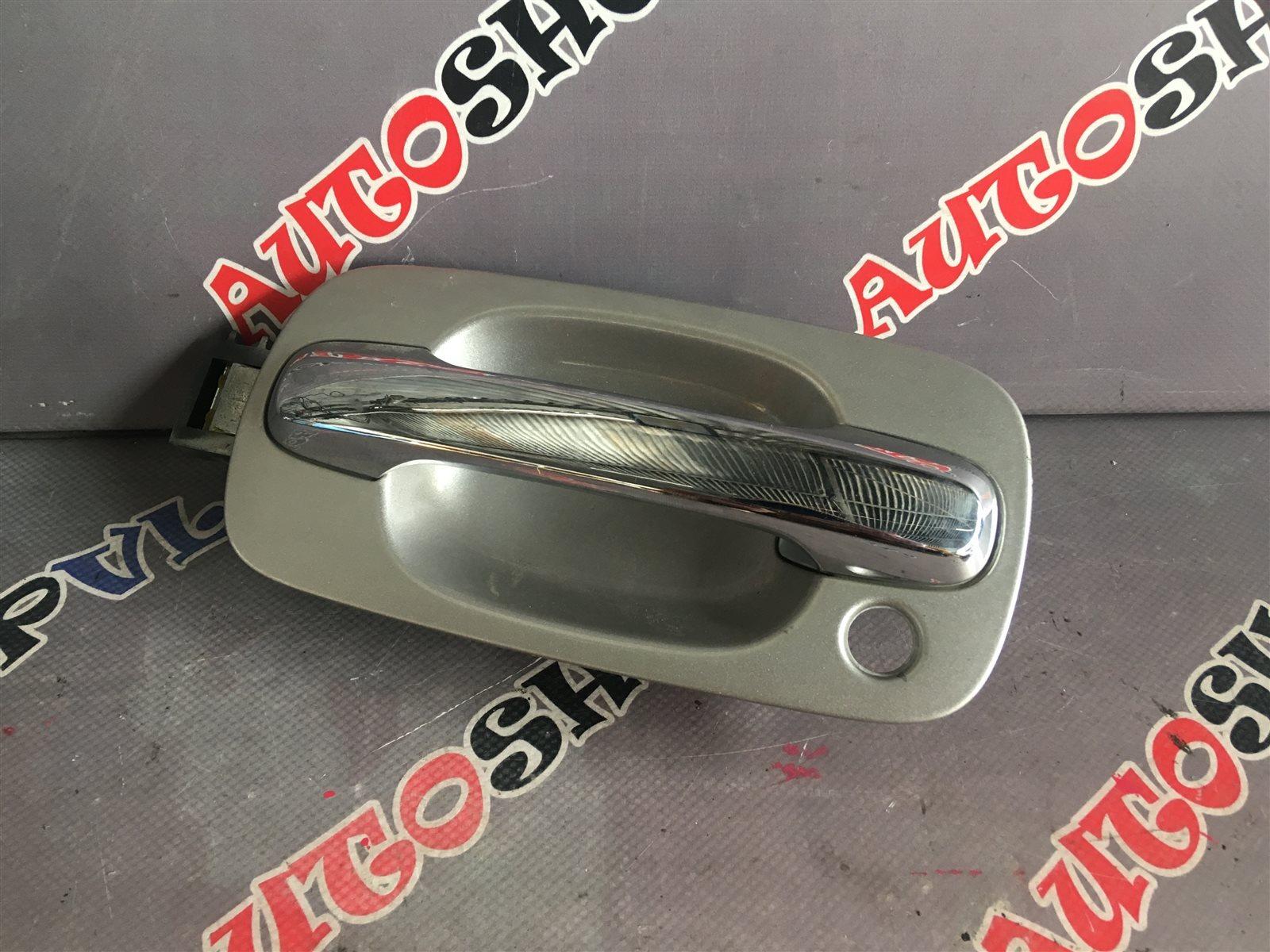 Ручка двери внешняя Toyota Vista AZV50 1AZFSE передняя левая (б/у)