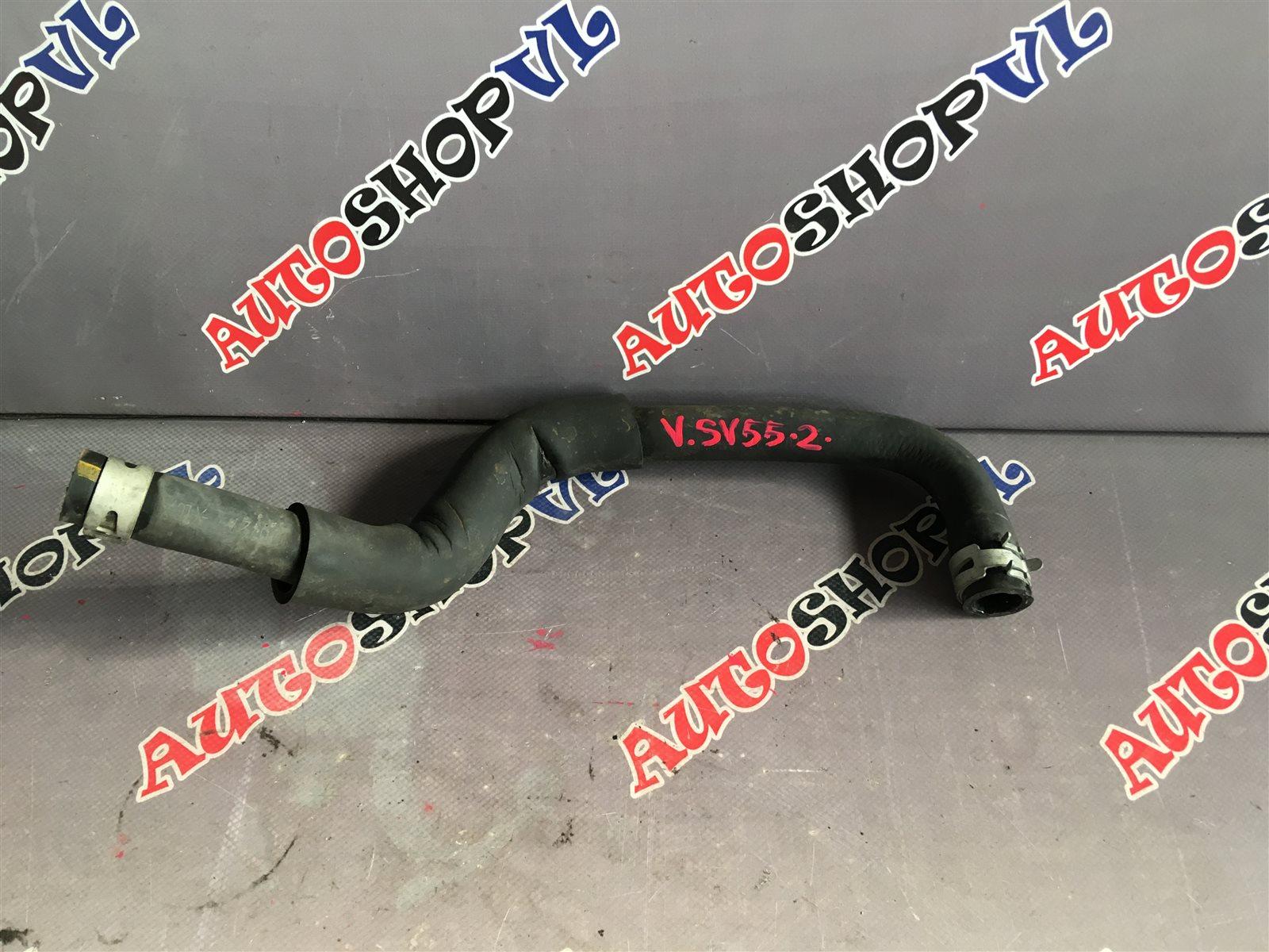 Патрубок радиатора печки Toyota Vista SV55 3SFE 06.1998 (б/у)