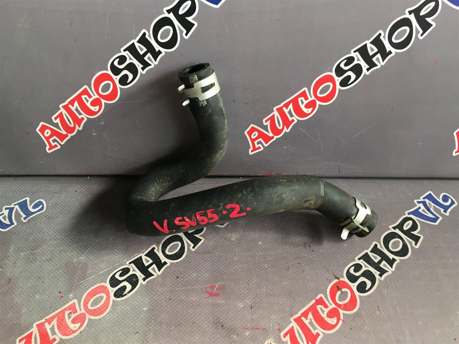 Патрубок радиатора печки Toyota Vista SV50 3SFE 06.1998 (б/у)