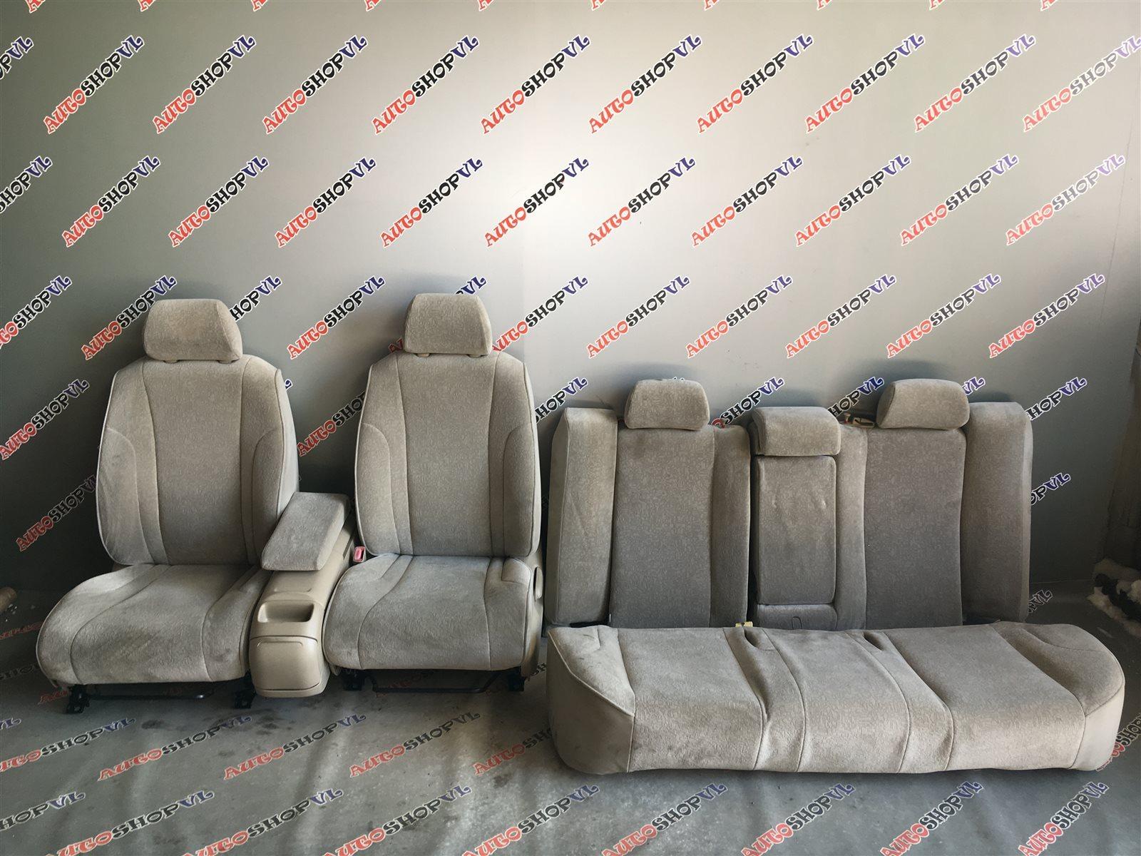 Сидение Toyota Vista AZV50 1AZFSE (б/у)