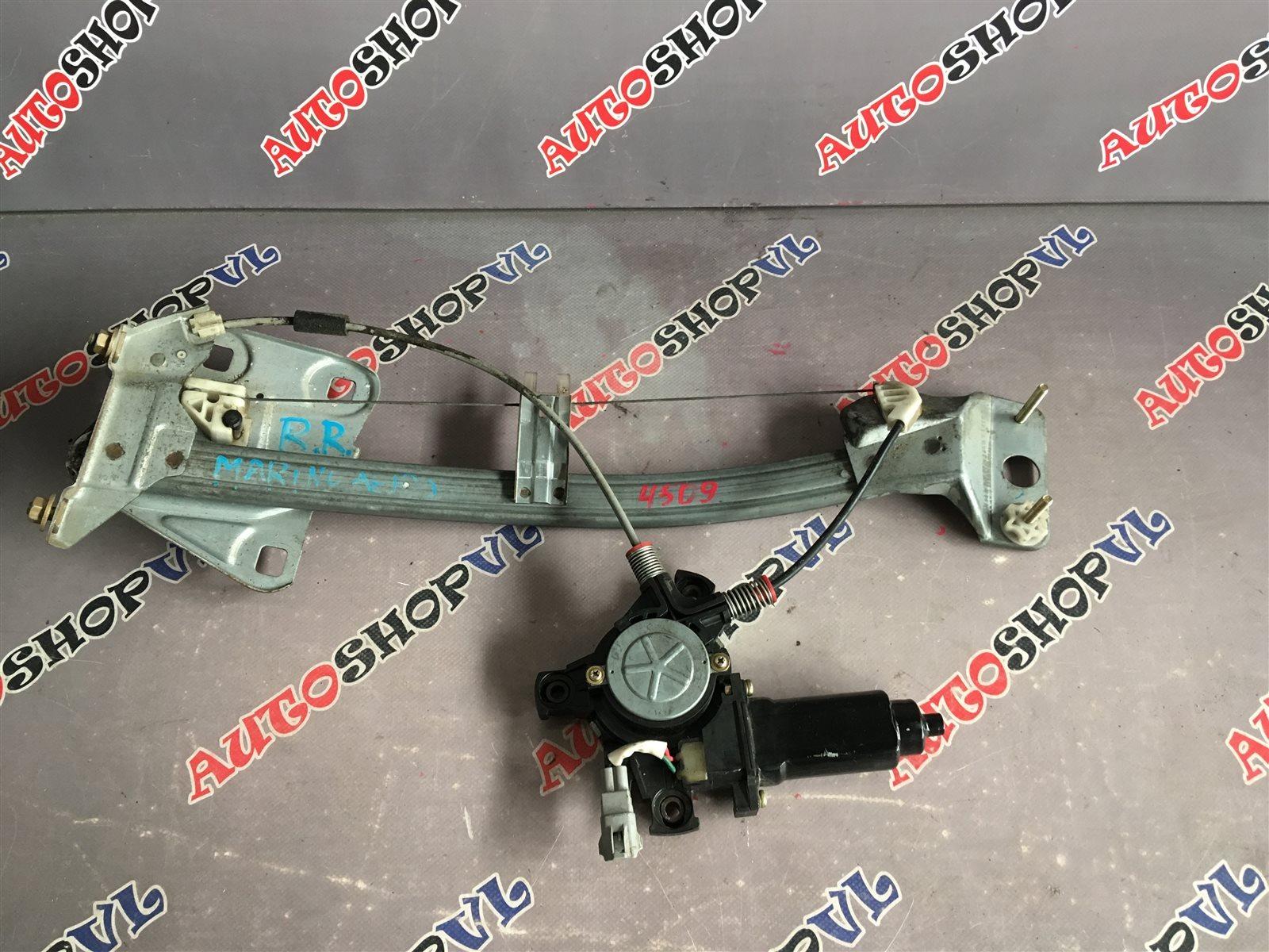 Стеклоподъемник Toyota Sprinter Marino AE101 задний правый (б/у)