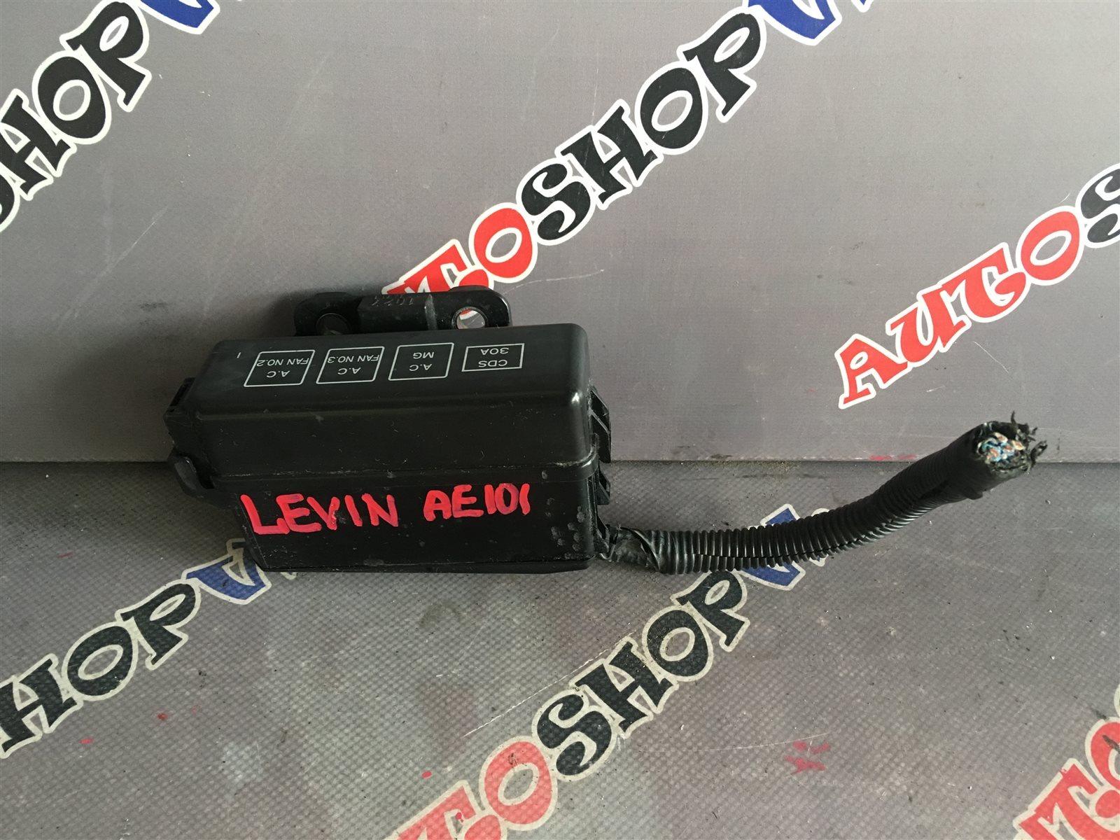Блок предохранителей под капот Toyota Corolla Levin AE101 (б/у)