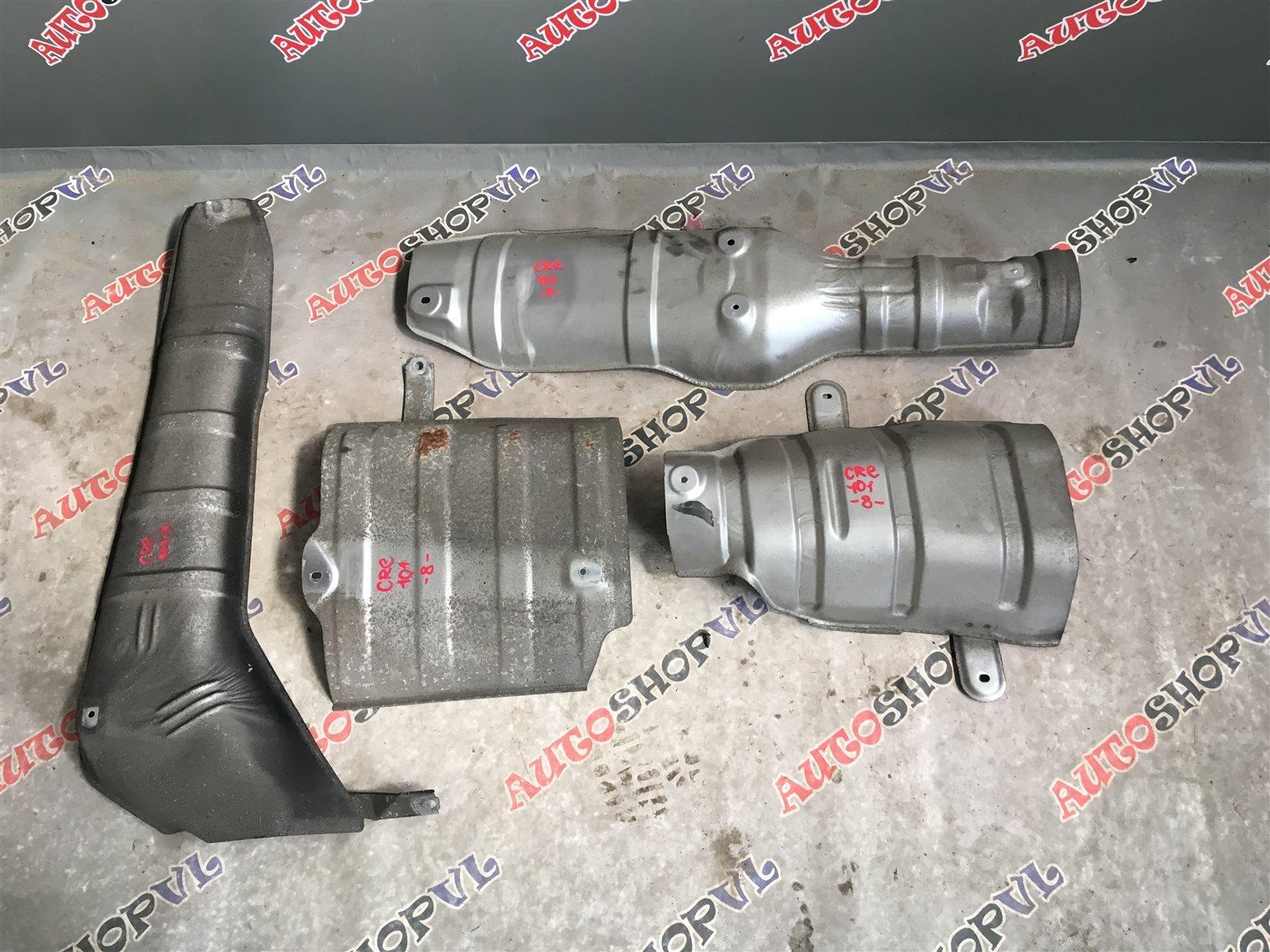 Тепловая защита глушителя Toyota Corolla Ceres AE101 4AFE (б/у)