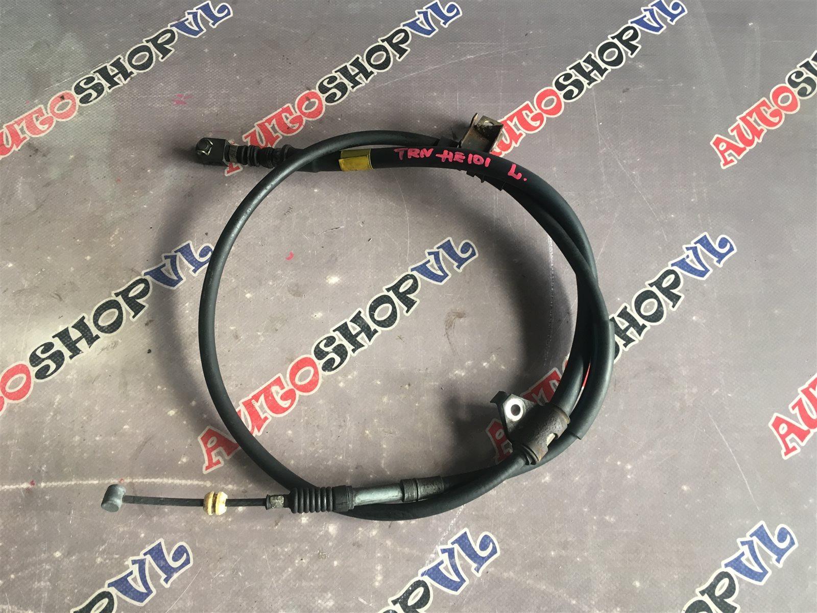 Тросик ручника Toyota Sprinter Trueno AE101 4AGE задний левый (б/у)
