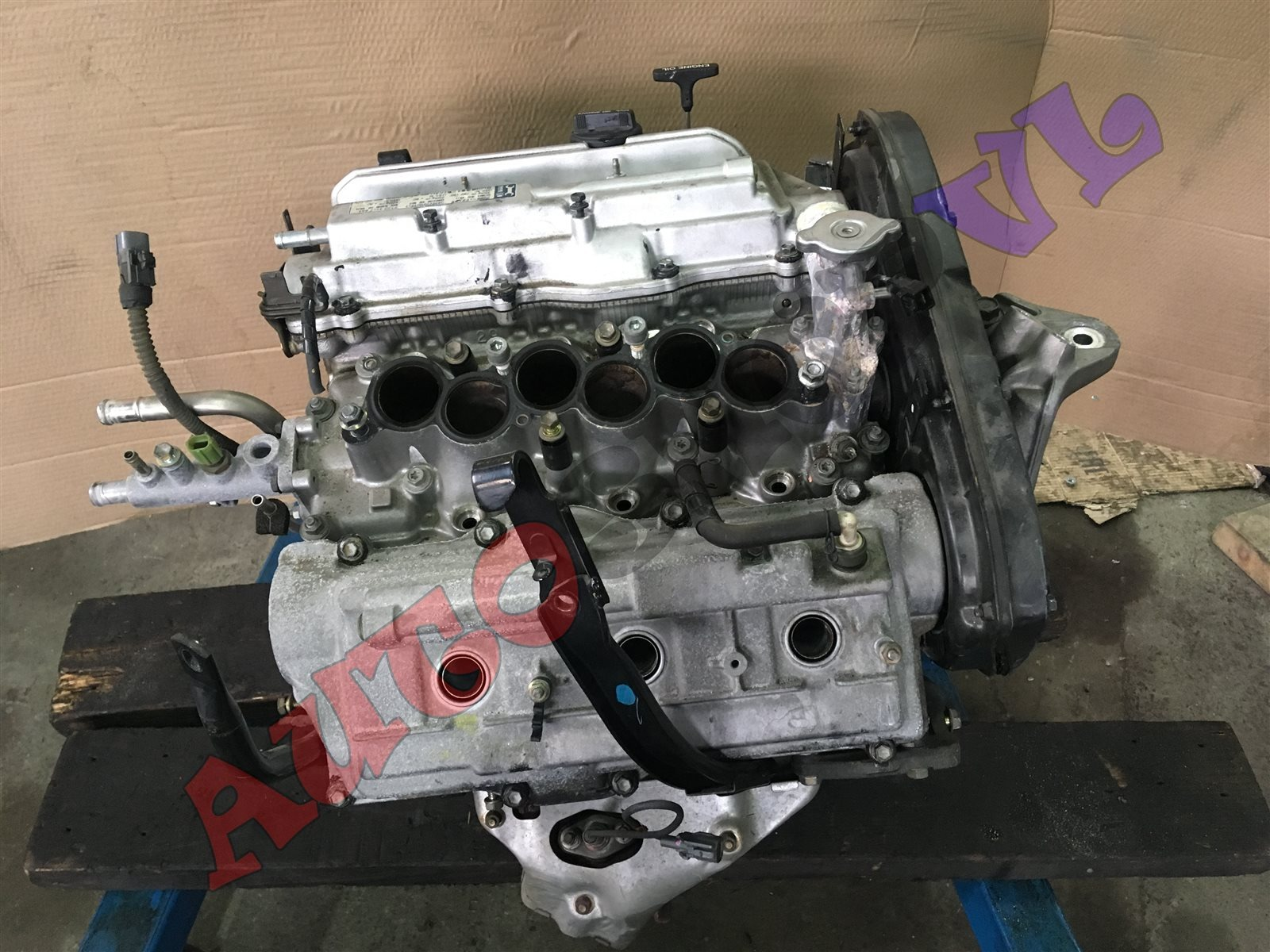 Двигатель Toyota Camry Prominent VZV33 4VZFE 05.1991 (б/у)
