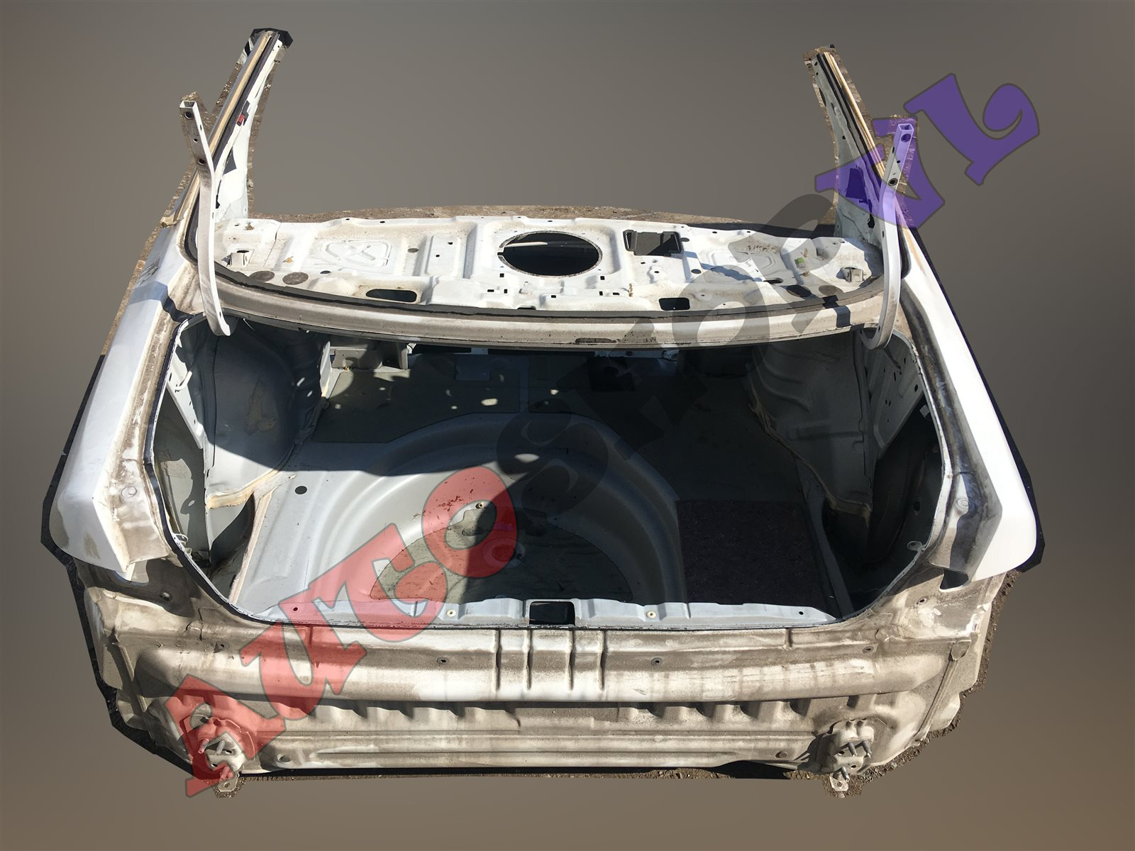 Rear cut Toyota Windom MCV21 2MZFE (б/у)