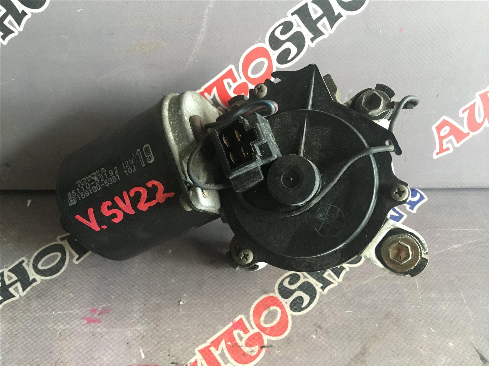 Мотор дворников Toyota Vista SV22 4SFI передний (б/у)