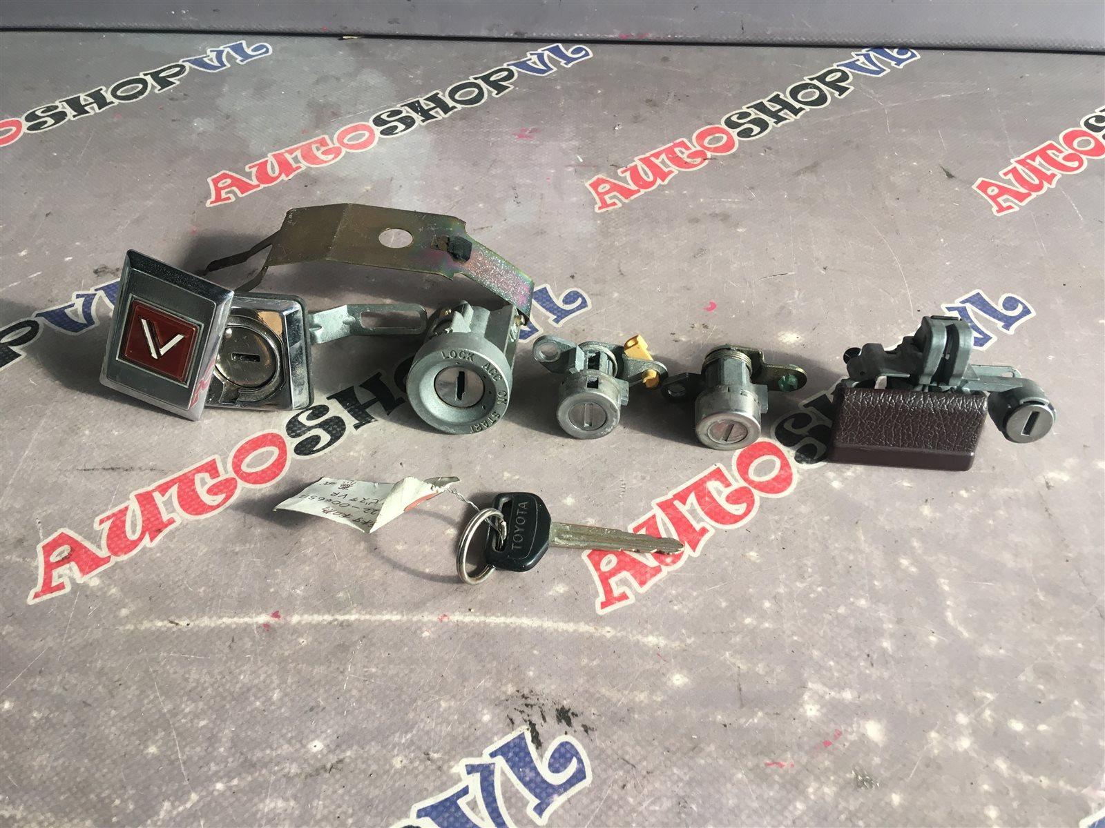 Личинка замка Toyota Vista SV22 4SFI (б/у)
