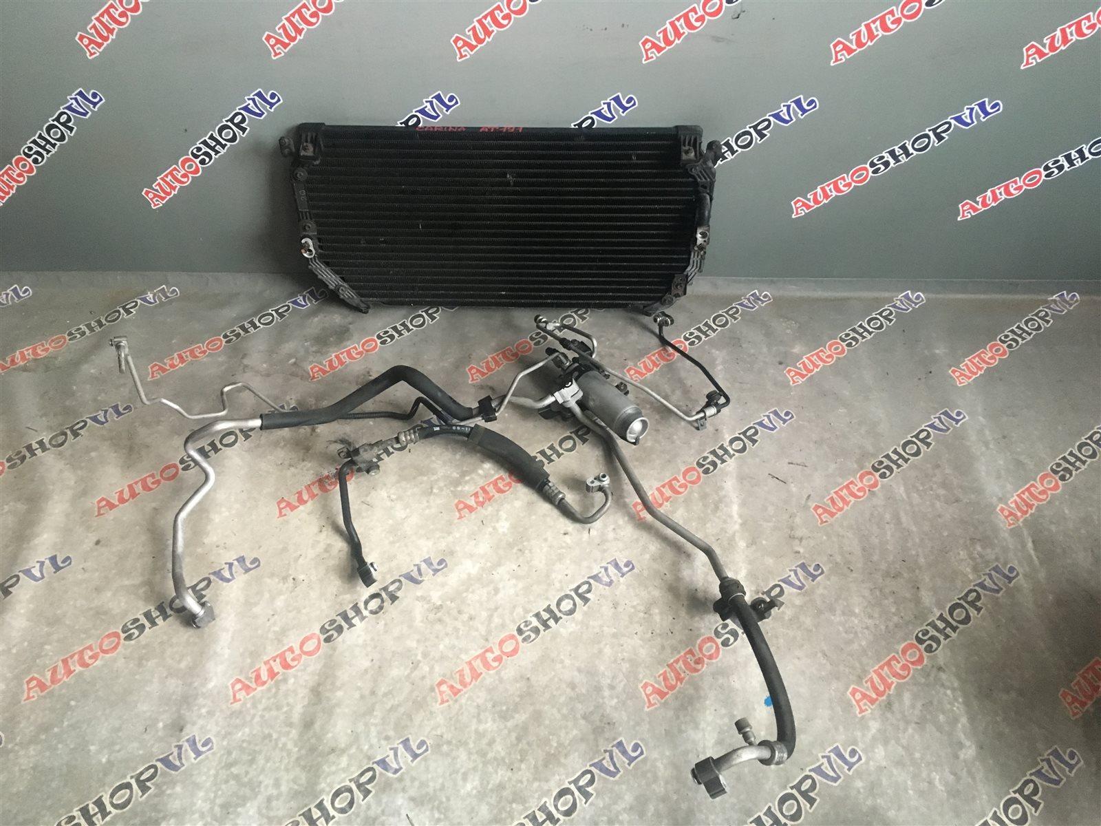Радиатор кондиционера Toyota Carina AT191 7AFE (б/у)