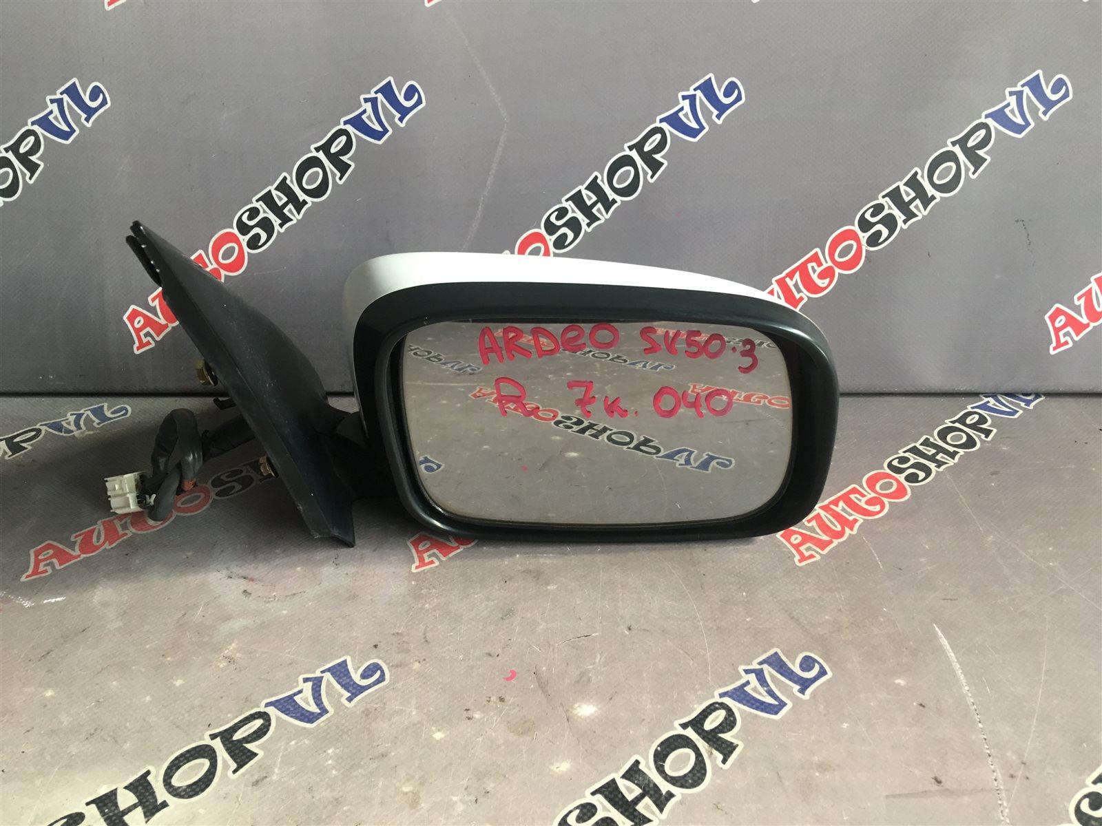 Зеркало Toyota Vista Ardeo AZV50 1AZFSE переднее правое (б/у)
