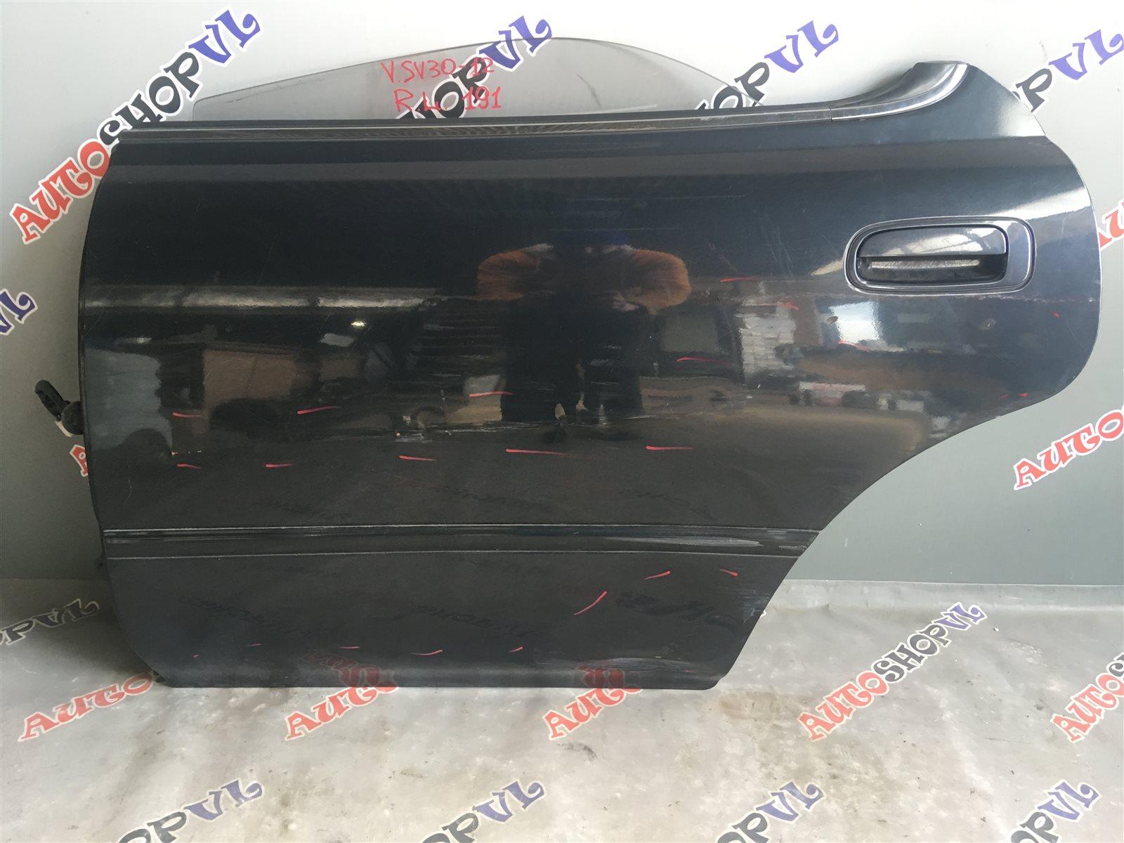 Дверь Toyota Vista SV30 задняя левая (б/у)