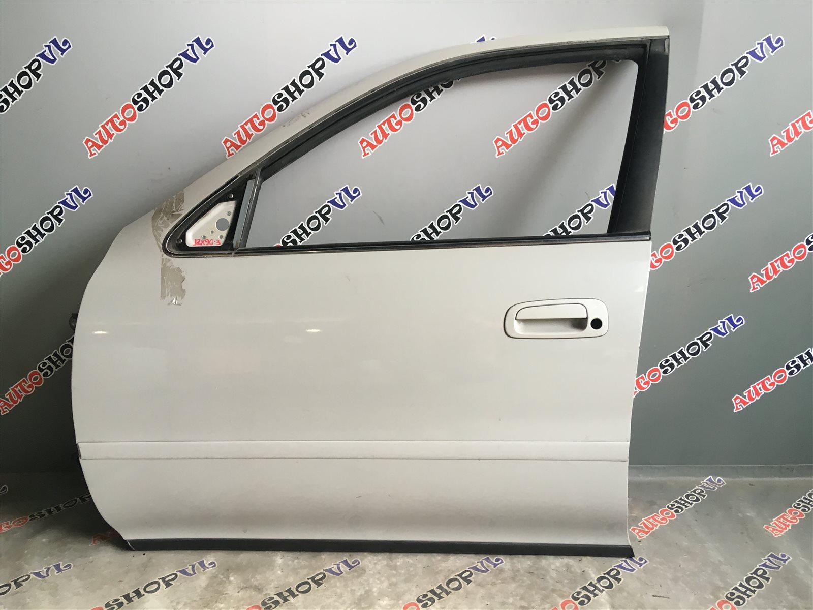 Дверь Toyota Cresta JZX90 1JZGE передняя левая (б/у)
