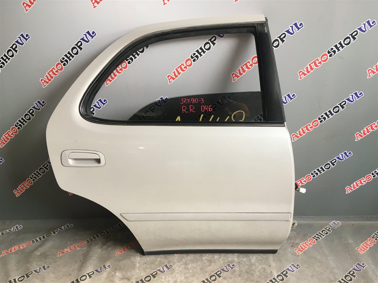 Дверь Toyota Cresta JZX90 1JZGE задняя правая (б/у)